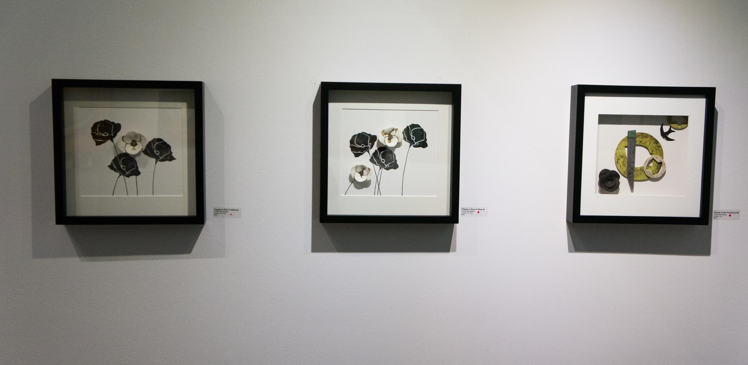 Flowers & Flight (installation), continued