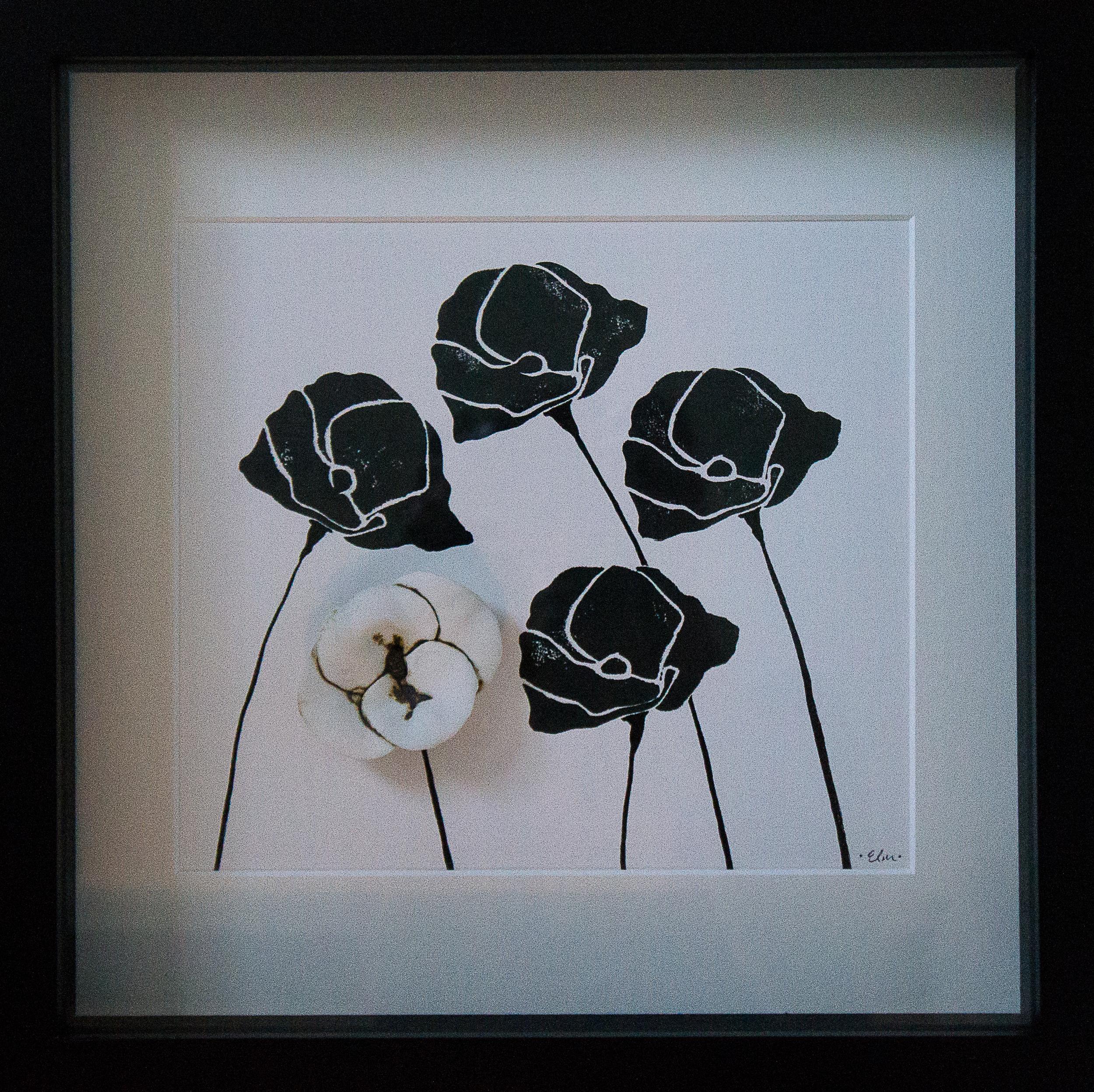 Poppies in Black & White #1