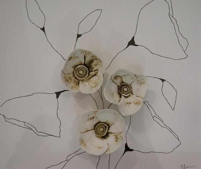 Poppies #2, detail