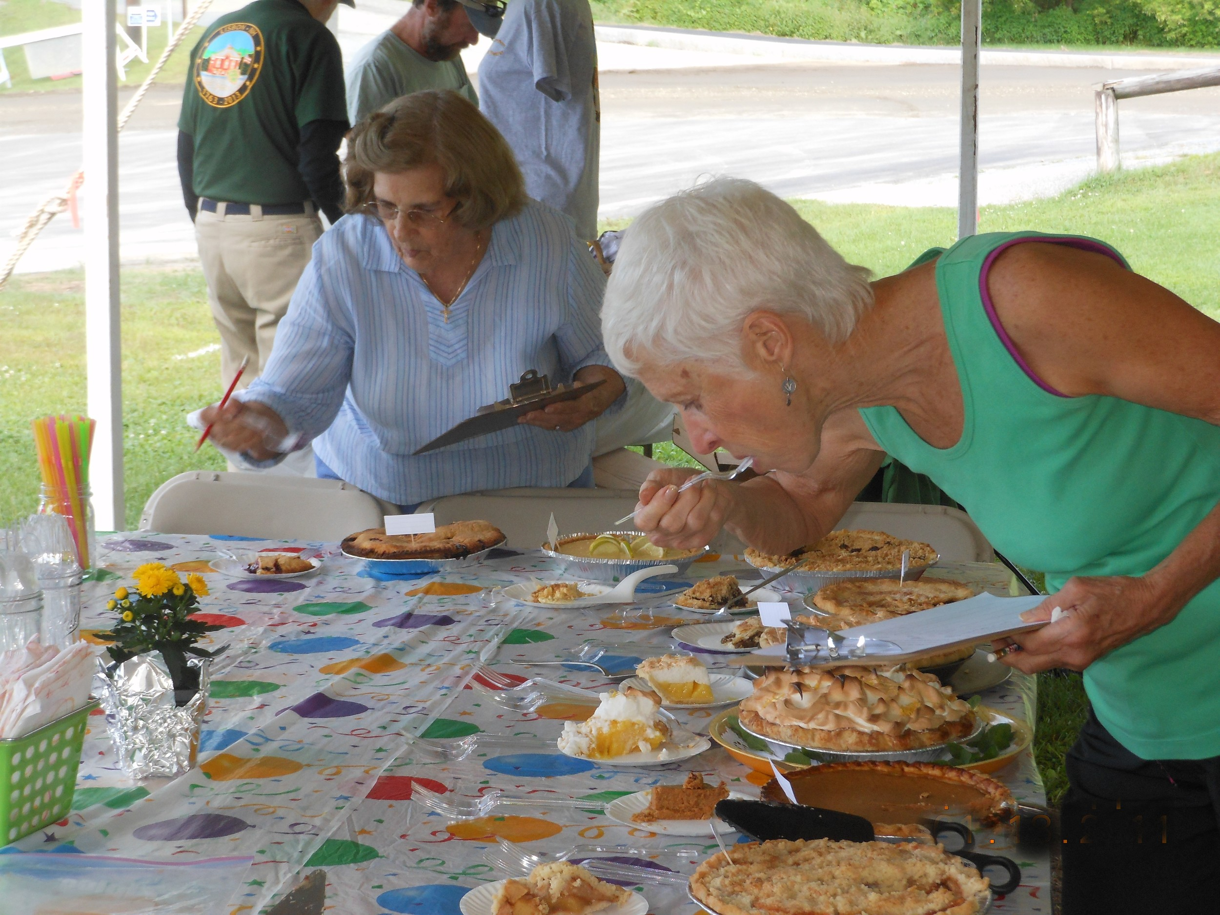 judging the Friends in Council pie contest.JPG