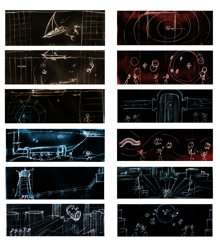 Initial Storyboards
