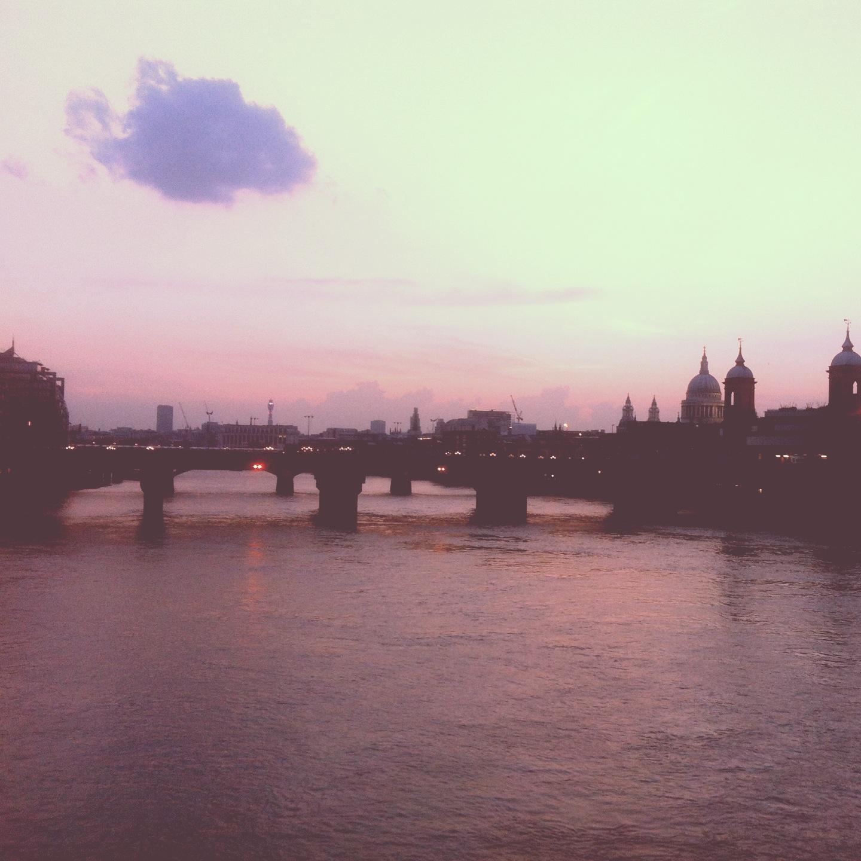 London Bridge skyline