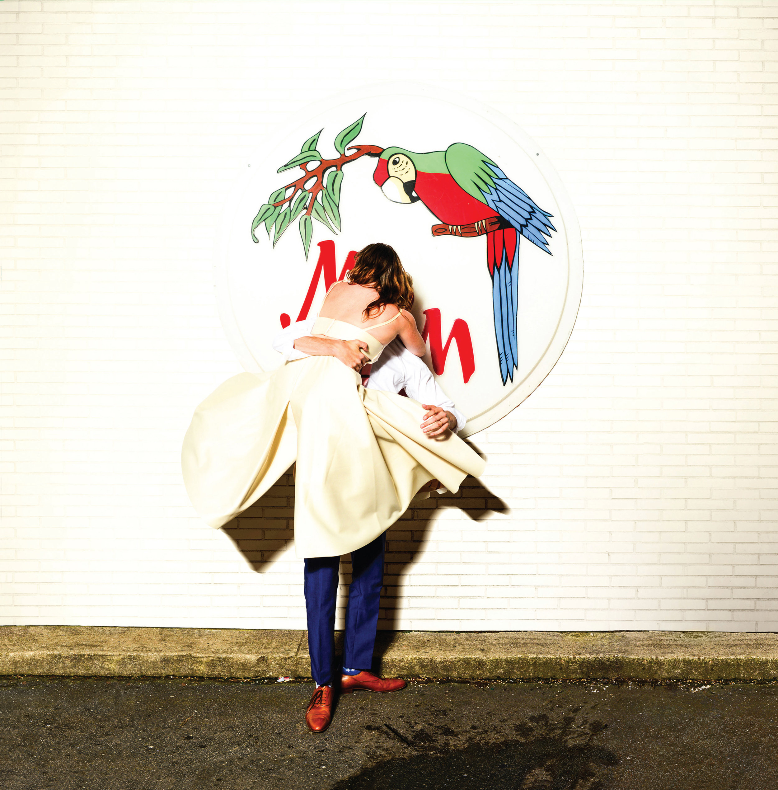 Sylvan Esso- WHAT NOW? Album cover