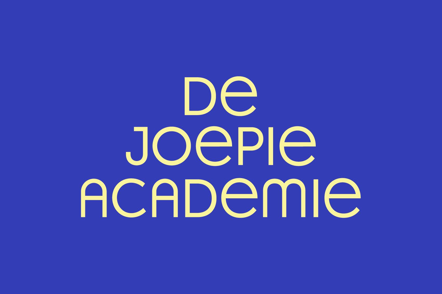 Logo De Joepie Academie
