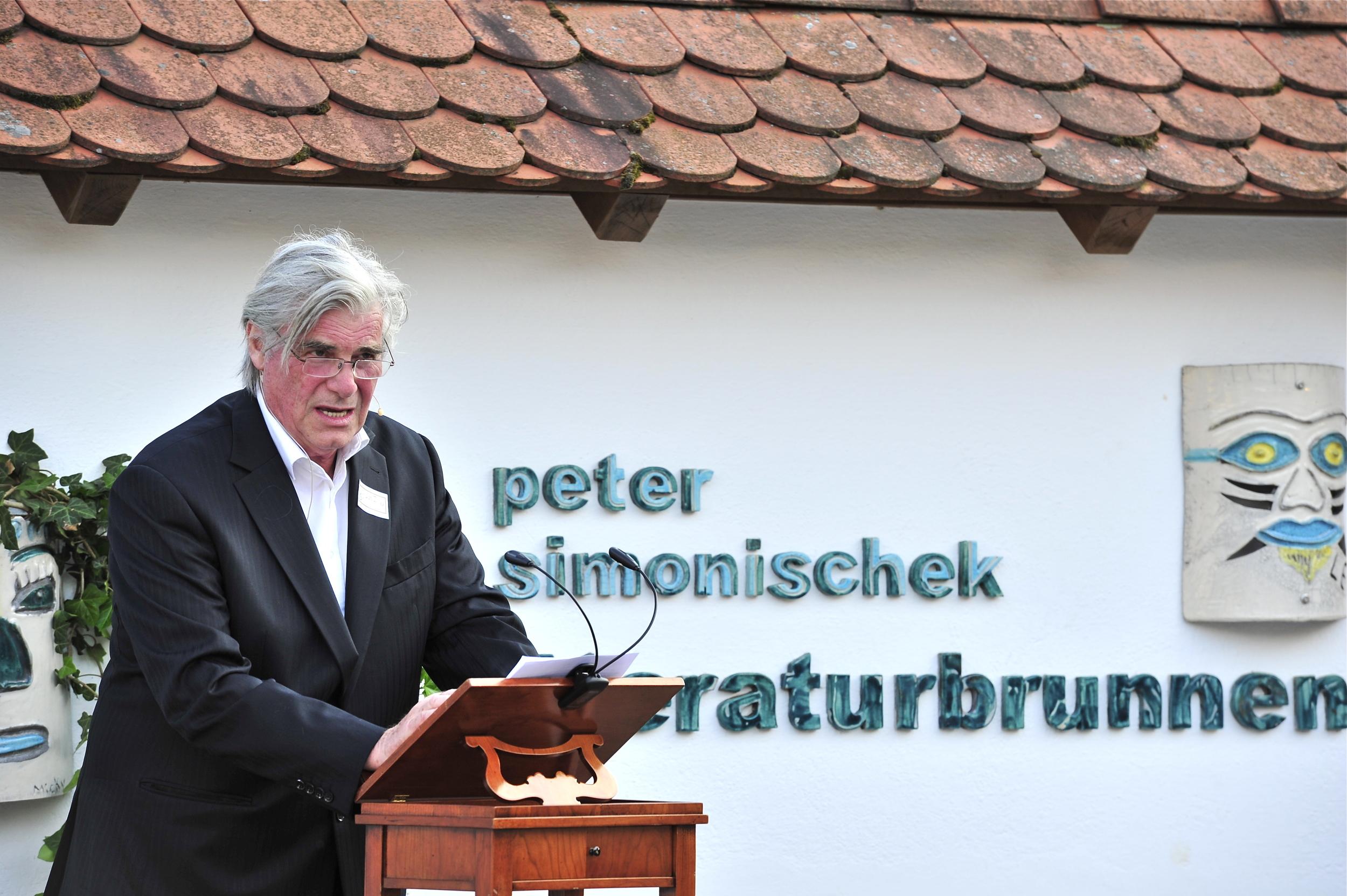 Peter Simonischek - Wortschatz 2012 Literaturwettbewerb