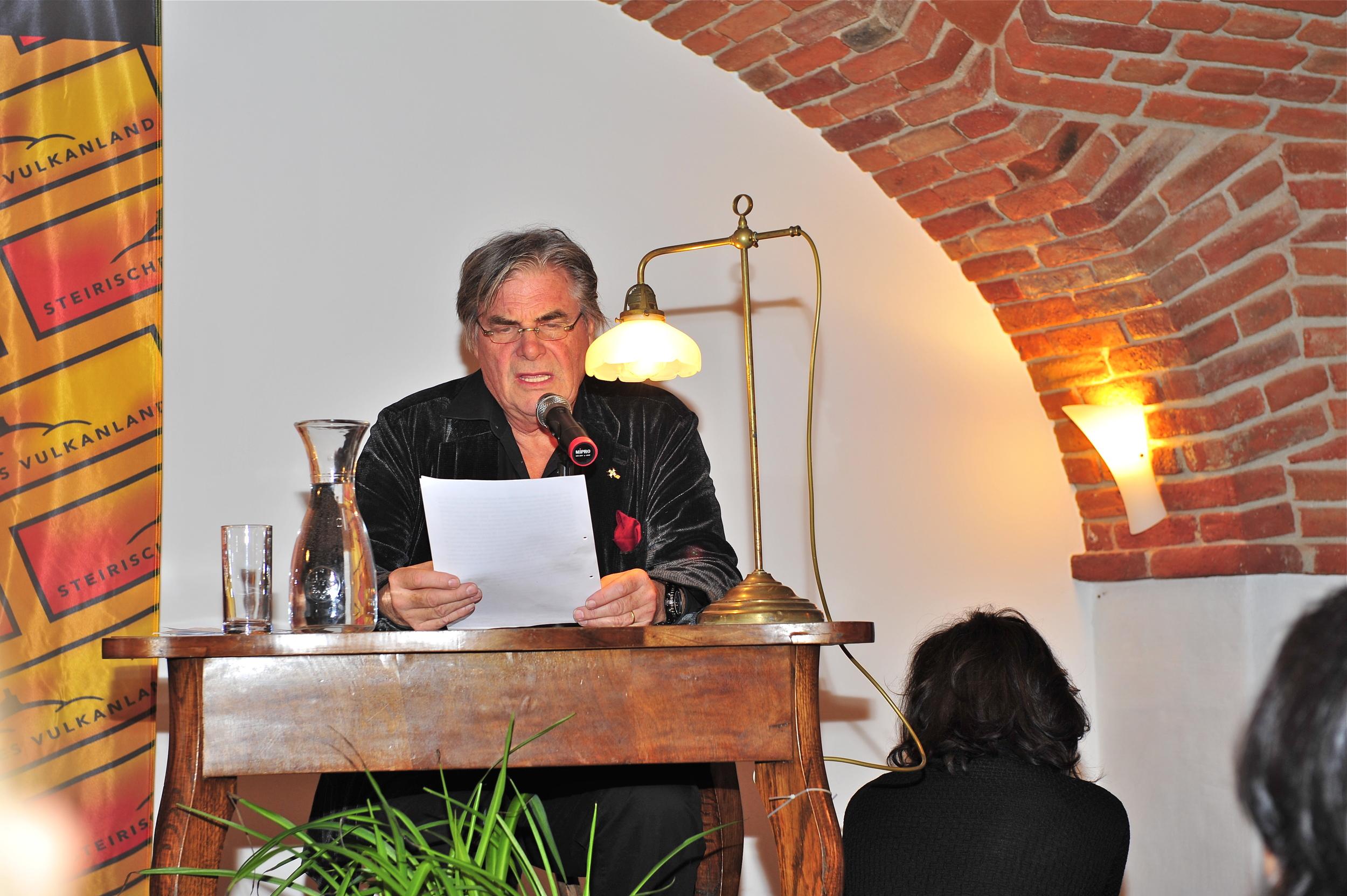 Buchpräsentation, Peter Simonischek - Wortschatz 2010 Literaturwettbewerb