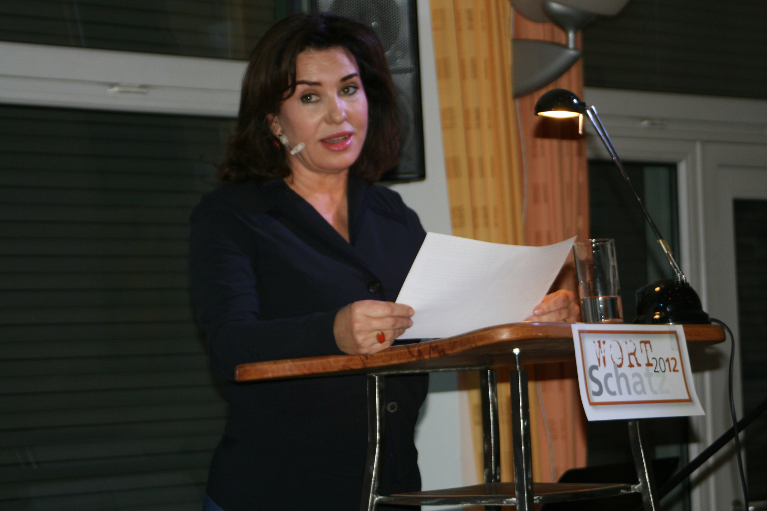 Buchpräsentation, Brigitte Karner - Wortschatz 2012 Literaturwettbewerb