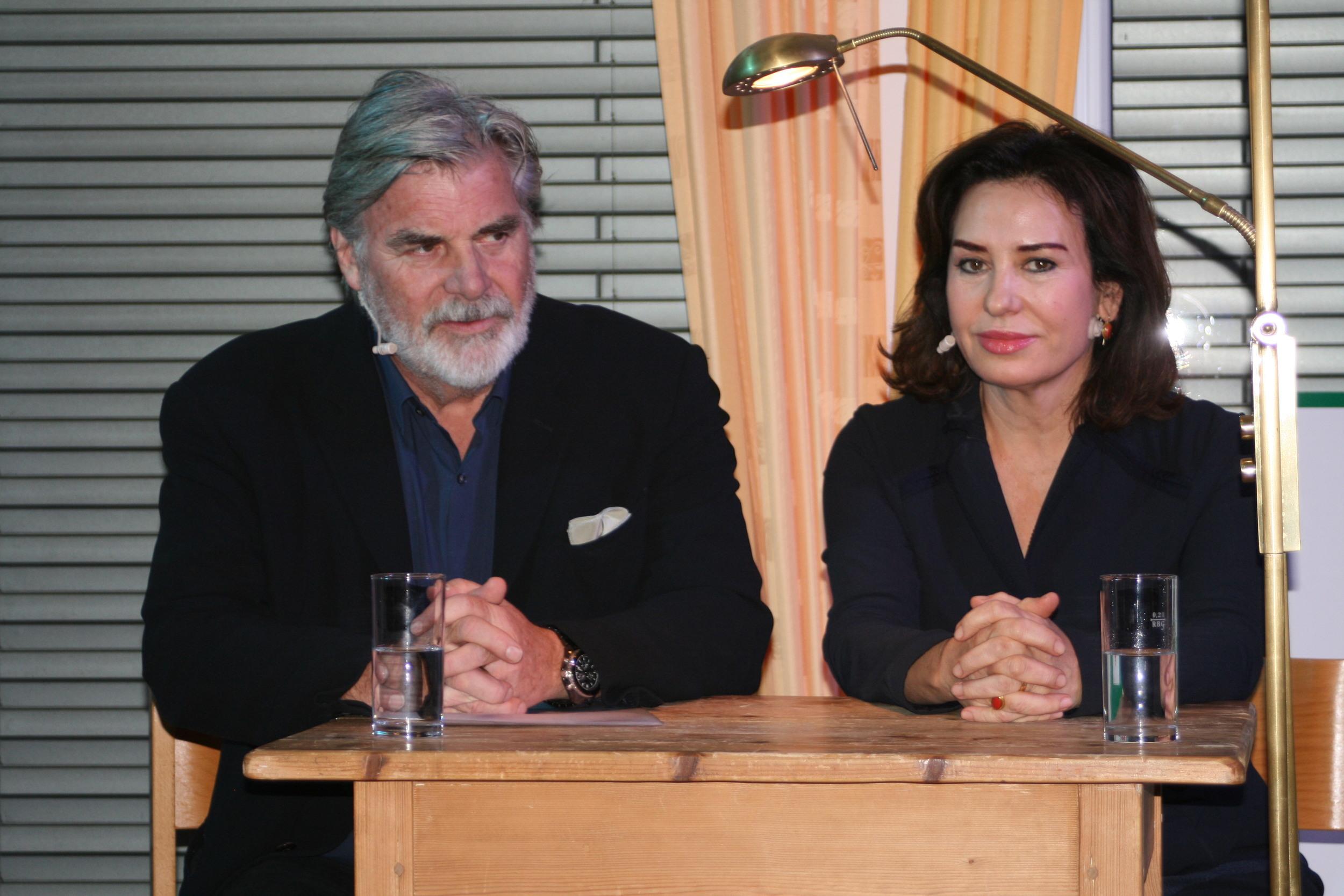 Buchpräsentation, Brigitte Karner, Peter Simonischek - Wortschatz 2012 Literaturwettbewerb