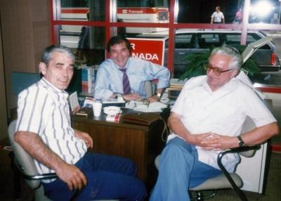 Sa Gojkom Šuškom, krajem 1980-tih