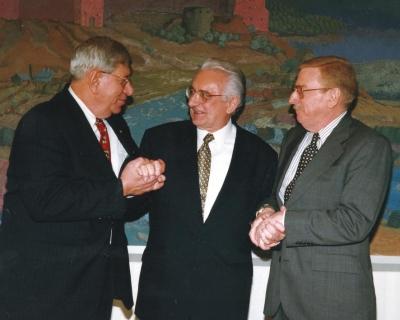 Sa Jacques Kleinom (lijevo)