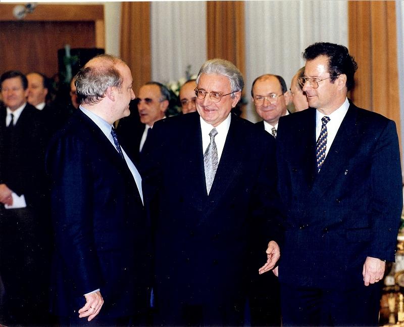 Sa Klausom Kinkelom, njemačkim ministrom vanjskih poslova