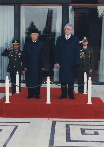Sa indonezijskim predsjednikom Suhartom