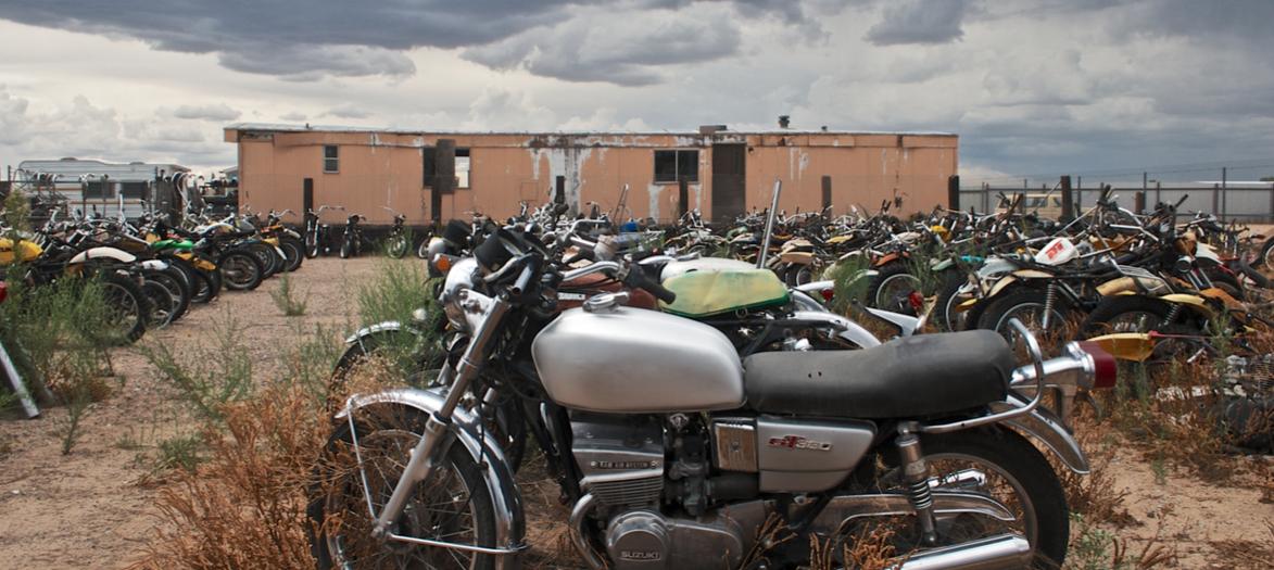 bikes in the desert