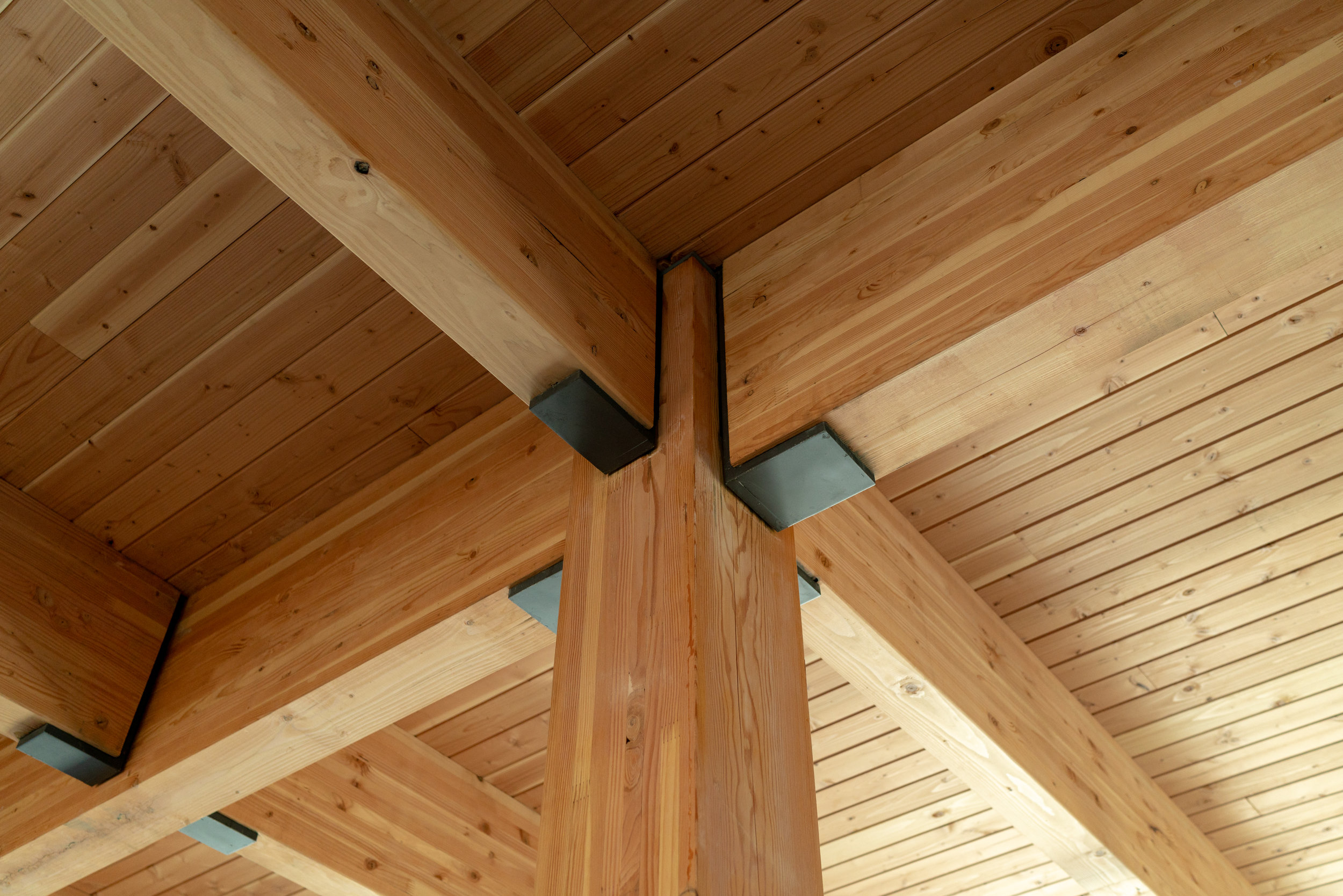 Silica Heavy Timber Ceiling