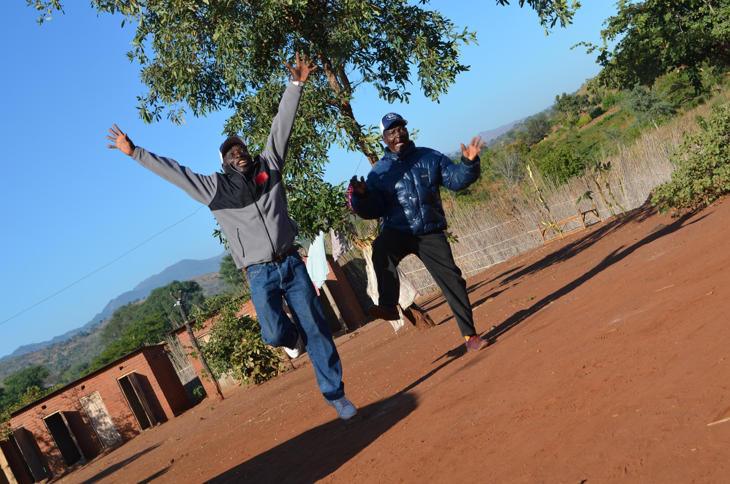 Pastor Ngwangwa and Pastor Mwantisi