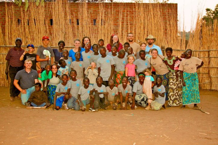Some of the Summer 2012 Mission team with the children from Timothy's Home