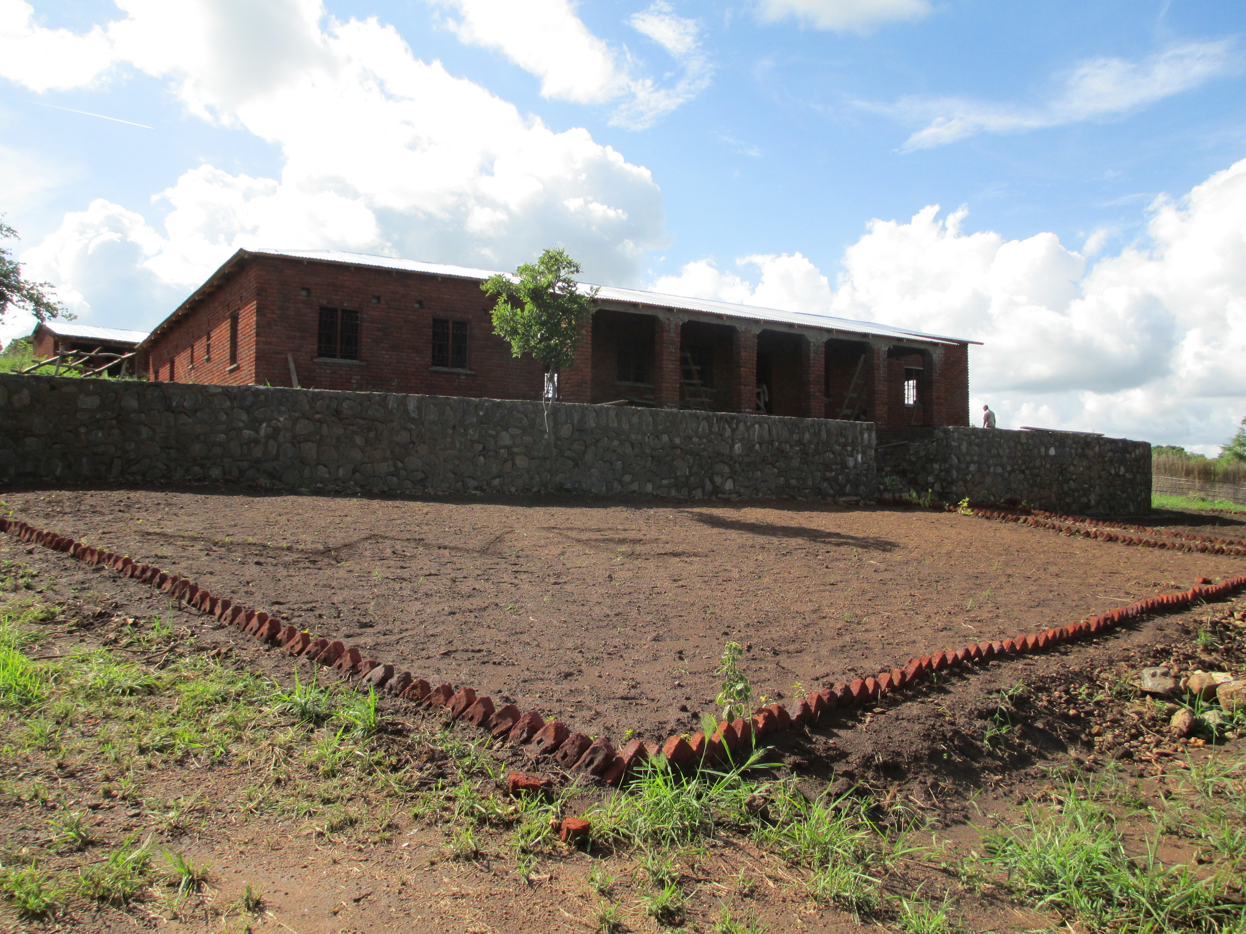 Pastor Phiri's house is almost finished!