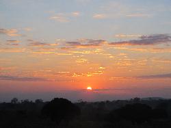Sunrise in Malawi