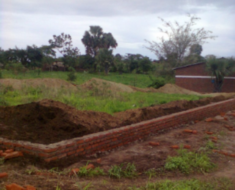 This Classroom block will house two Primary School classrooms and the Primary School Office! The teachers and children are all so excited for the building to be done so they can move in!