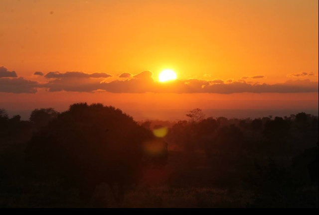 A Malawian sunset brings peace as we reflect, with joy, on all before us.