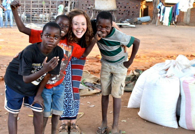 2012: These precious little boys were some of the first people I ate beans with in Malawi. Truly, any meal with them is a blessing!
