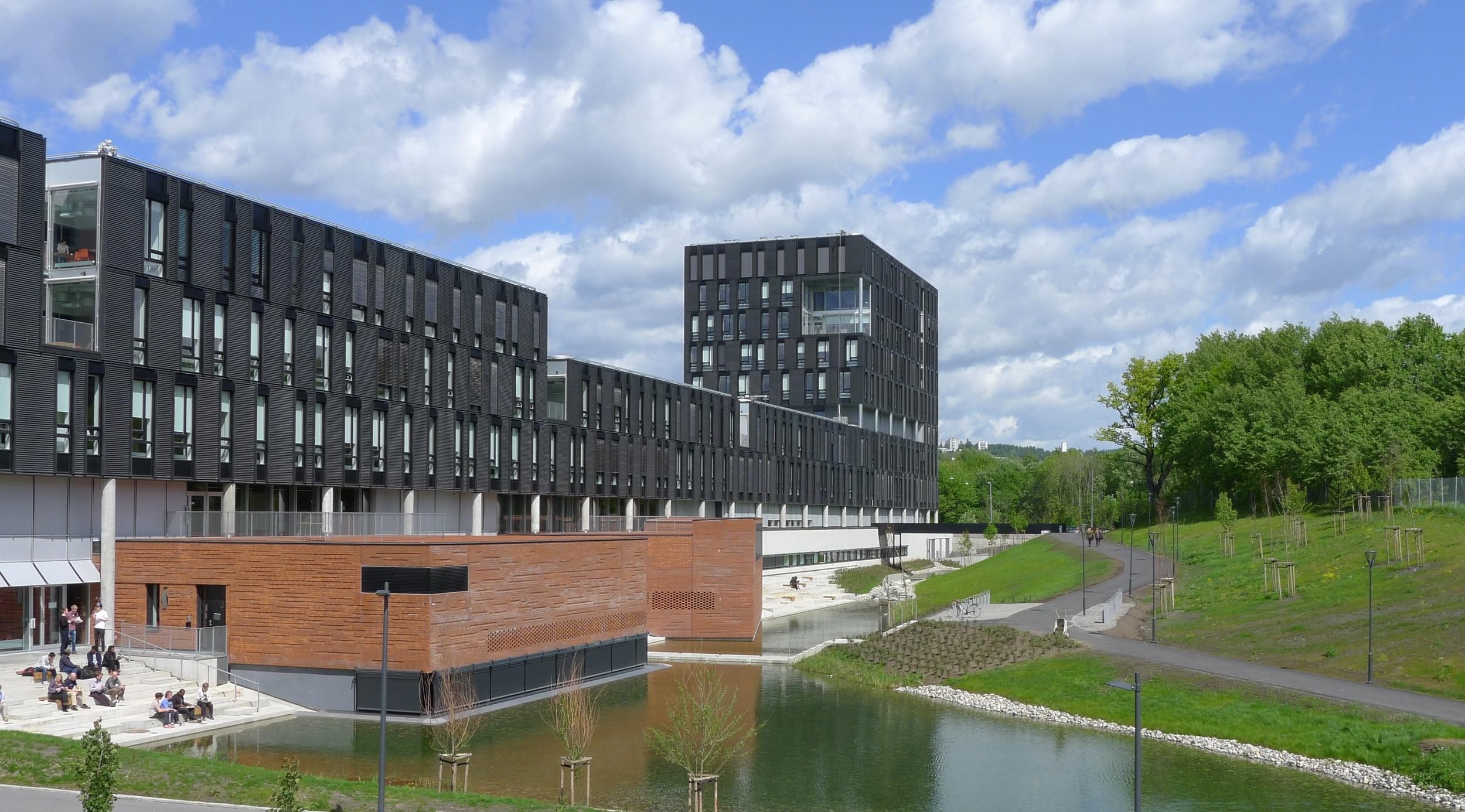 The informatics building at Blindern campus.