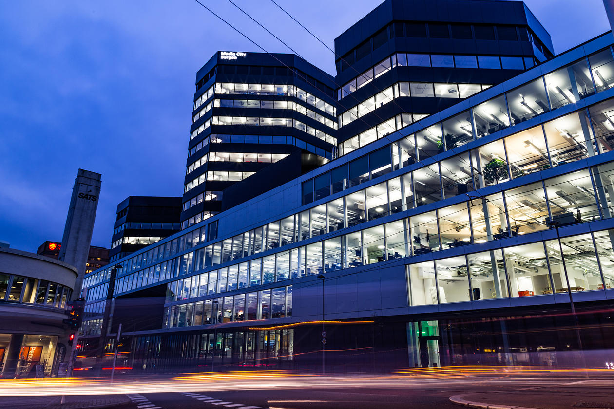 The Media City campus where the IxD program is located.