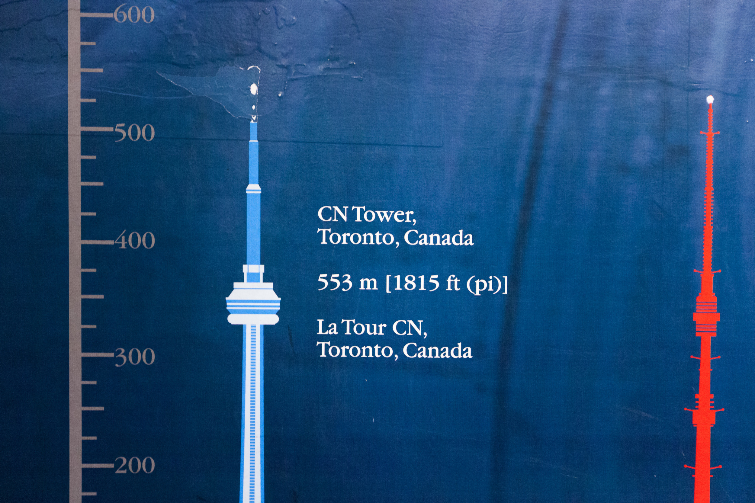 The CN Tower is tall