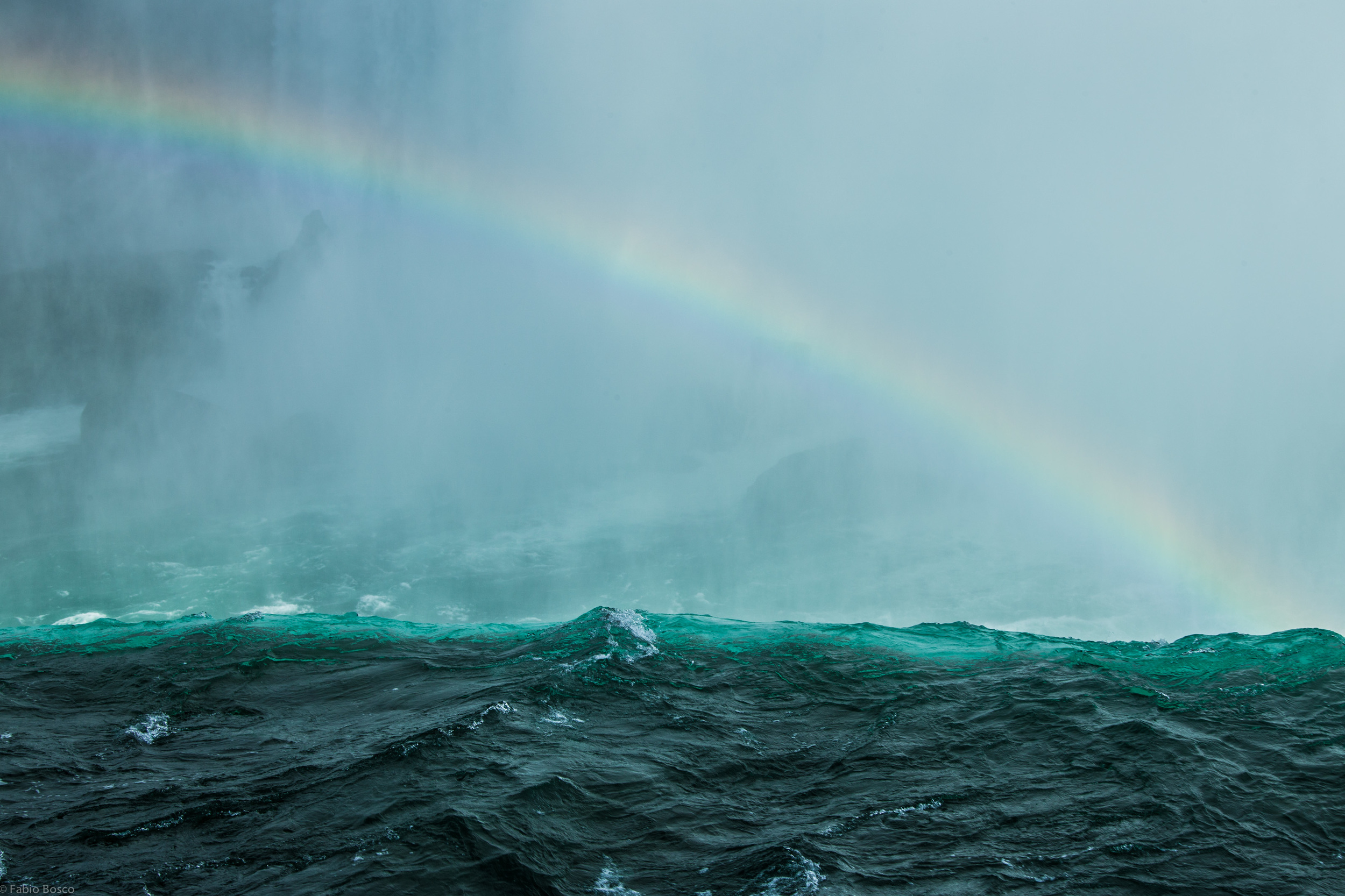 The water and the rainbow