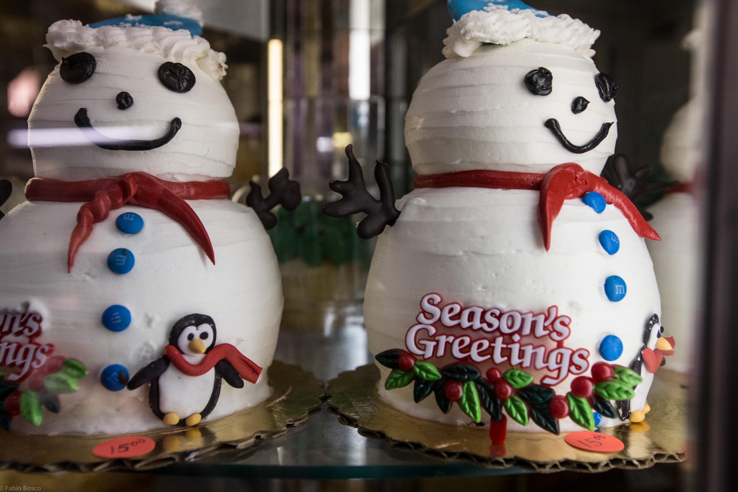 What's better than Snowman cake?