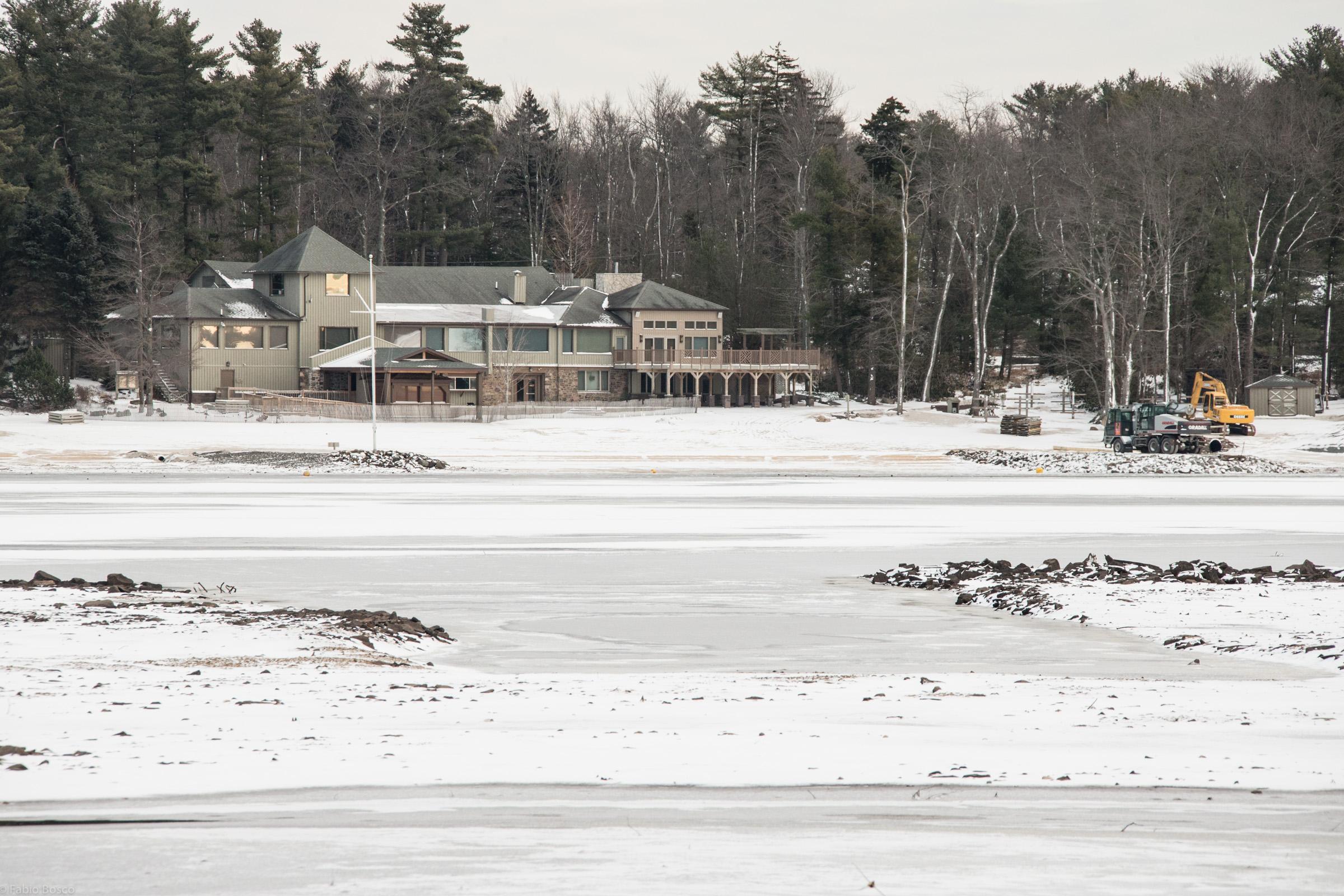 Lake Naomi: not like Summer