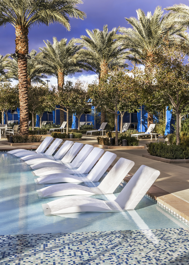 PublicAreaat Desert Blue Resort in Las Vegas, NV Designed by Design Poole, Inc in Winter Park Florida