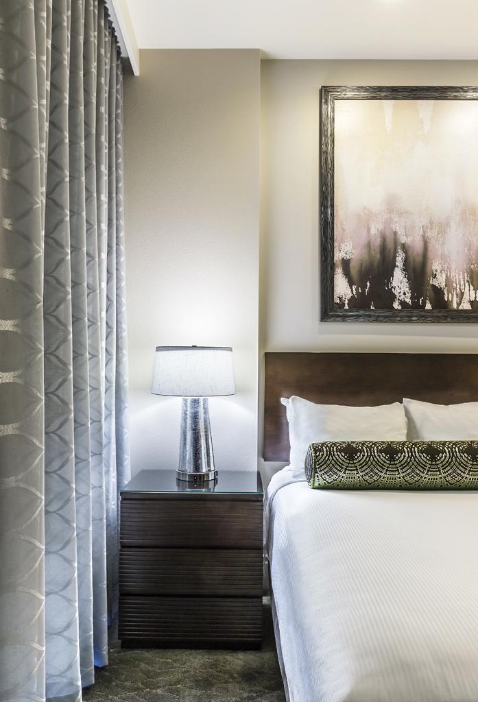 Guest RoomAreaat Desert Blue Resort in Las Vegas, NV Designed by Design Poole, Inc in Winter Park Florida