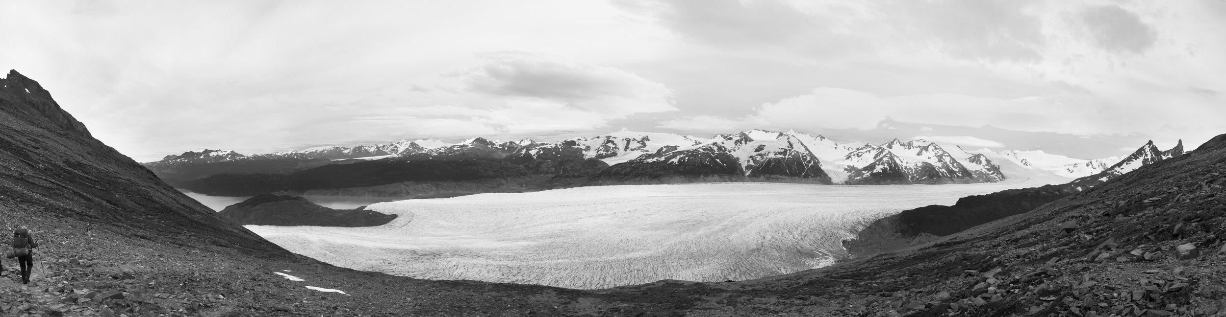 Grey Glacier.Torres del Paine National Park, Chile.