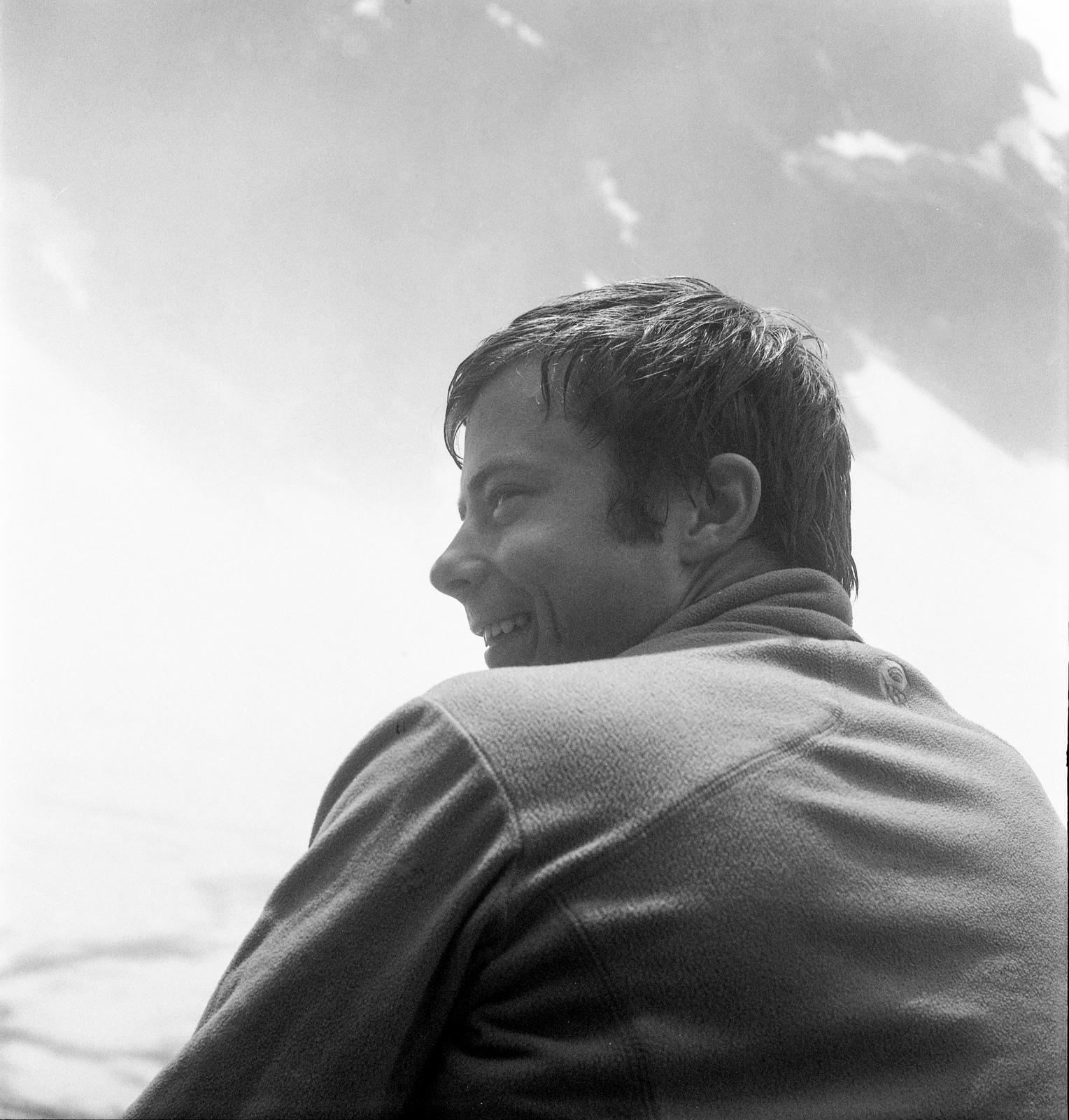 Arie Voorman at Lake Serene. ~2012?
