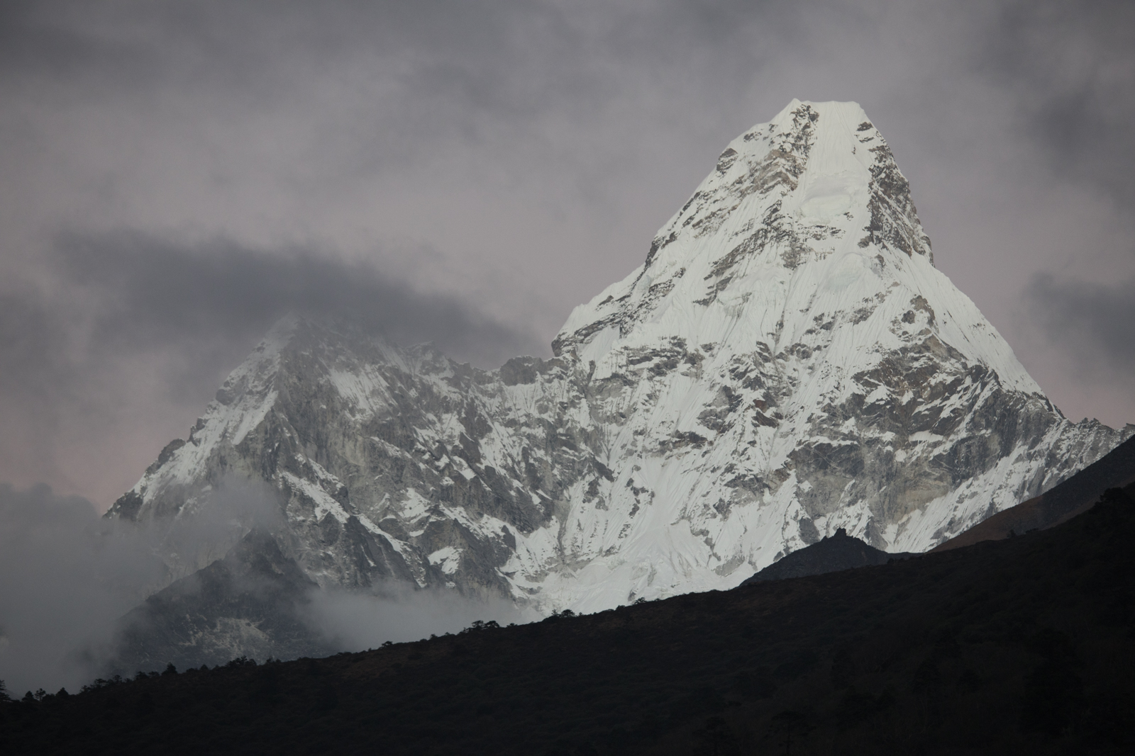 Ama Dablam. Ama Dablam 6,856 m / 22,493 ft. (Elevation credit: PeakFinder)