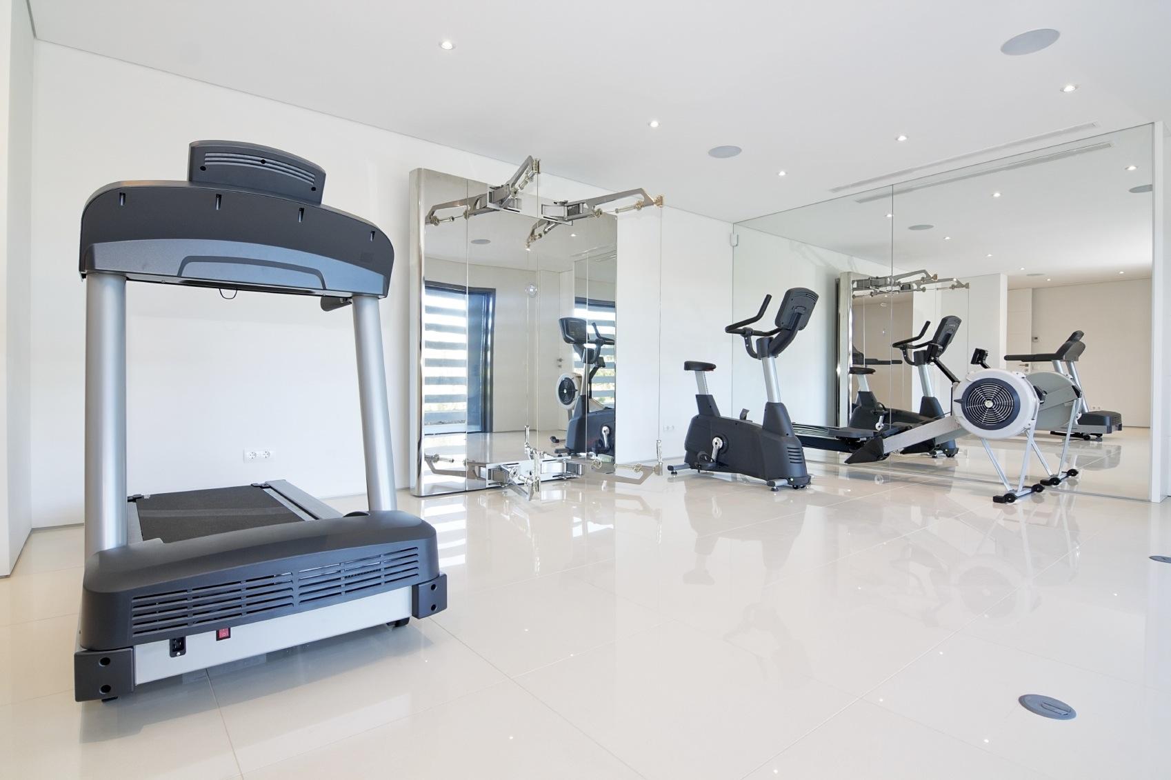 Custom-Design Home Gym