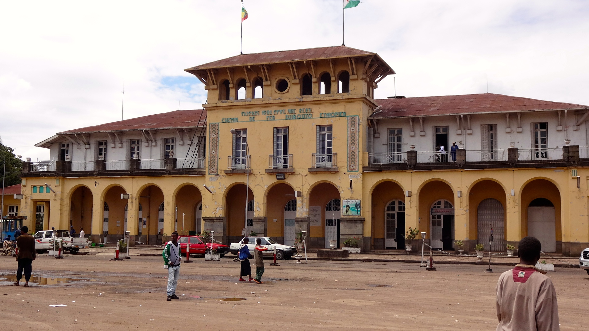 French-built railway station that used to serve Addis Ababa to its port facilities in Djibouti