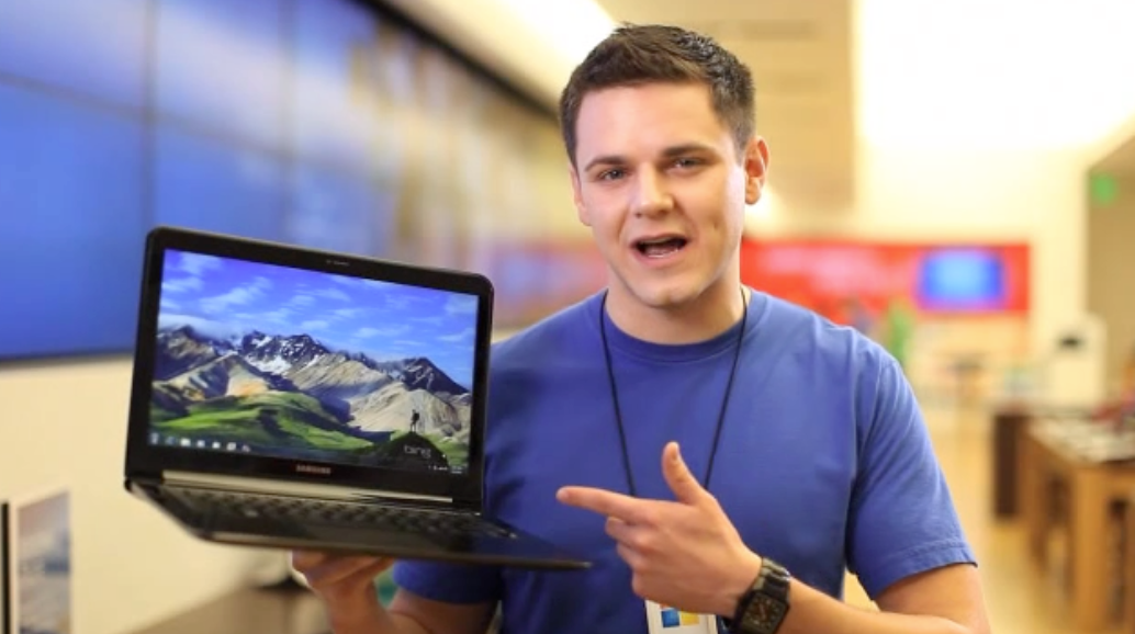 On-site demo at The Microsoft Store