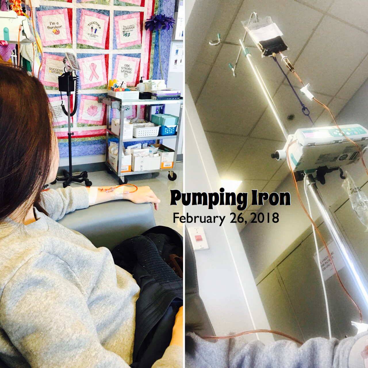 Update :   February 28, 2018  - I felt fine after the infusion but the side effects of severe headache, mild nausea, chest, back, lower body aches and pains started the next day that still lingers on today, 2 days after.  My heart whispers a prayer for the next session to turn out well again with no complications and for me not to feel as run down afterwards.