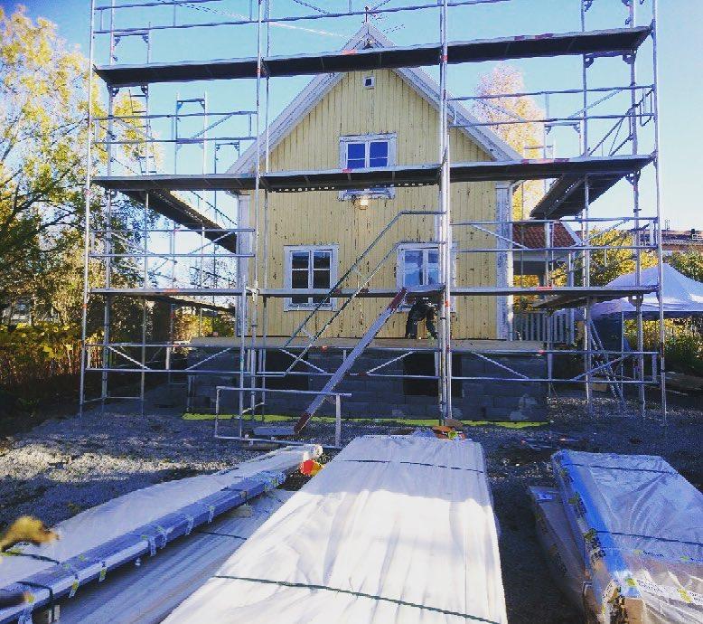 Tillbyggnad i Älvsjö