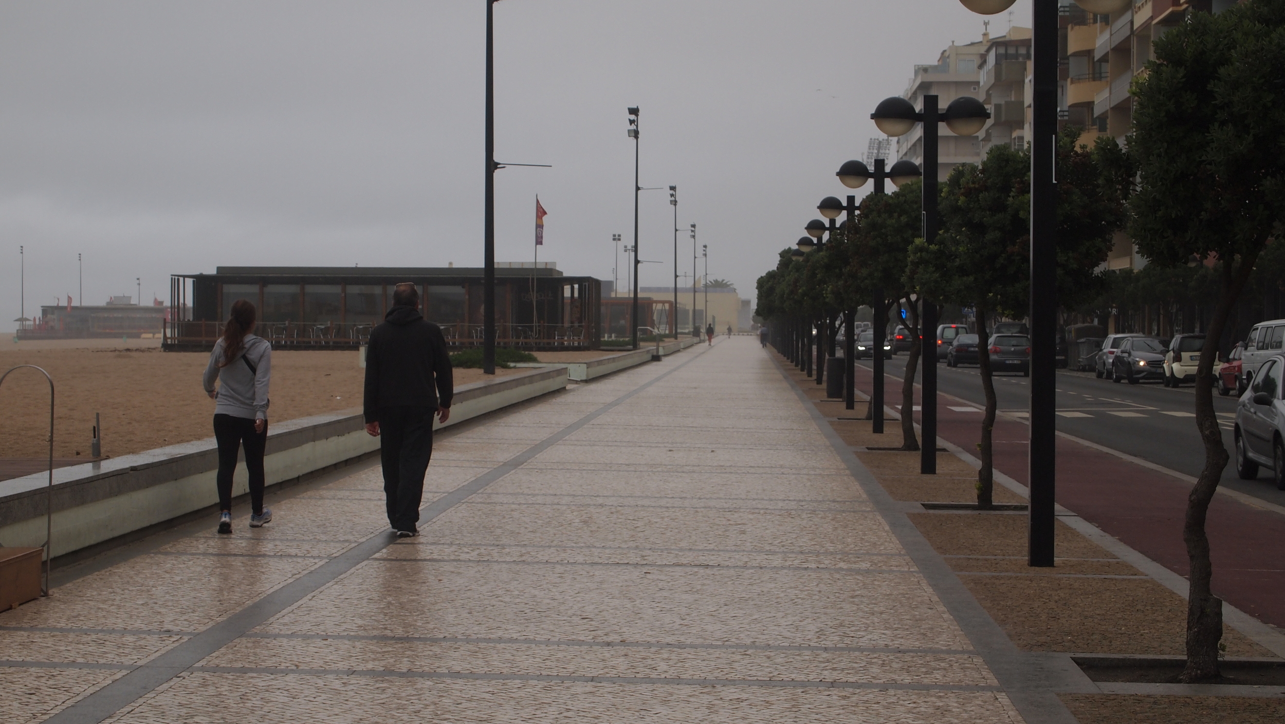 I spent a lot of time walking along routes that followed local paths along the beach.