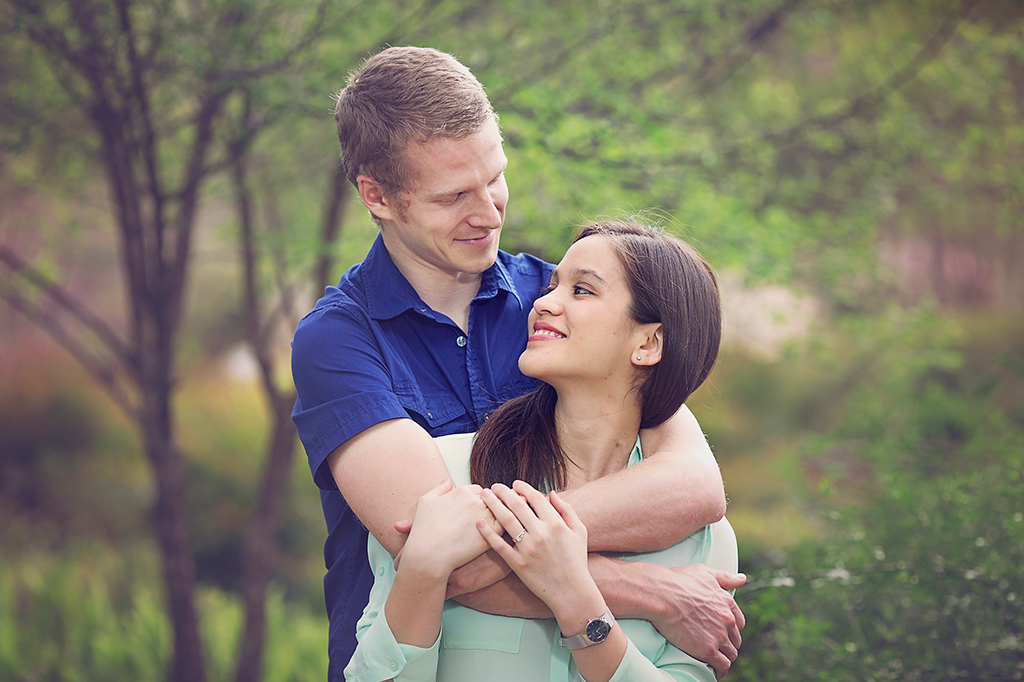 Herman Park Engagement Photography