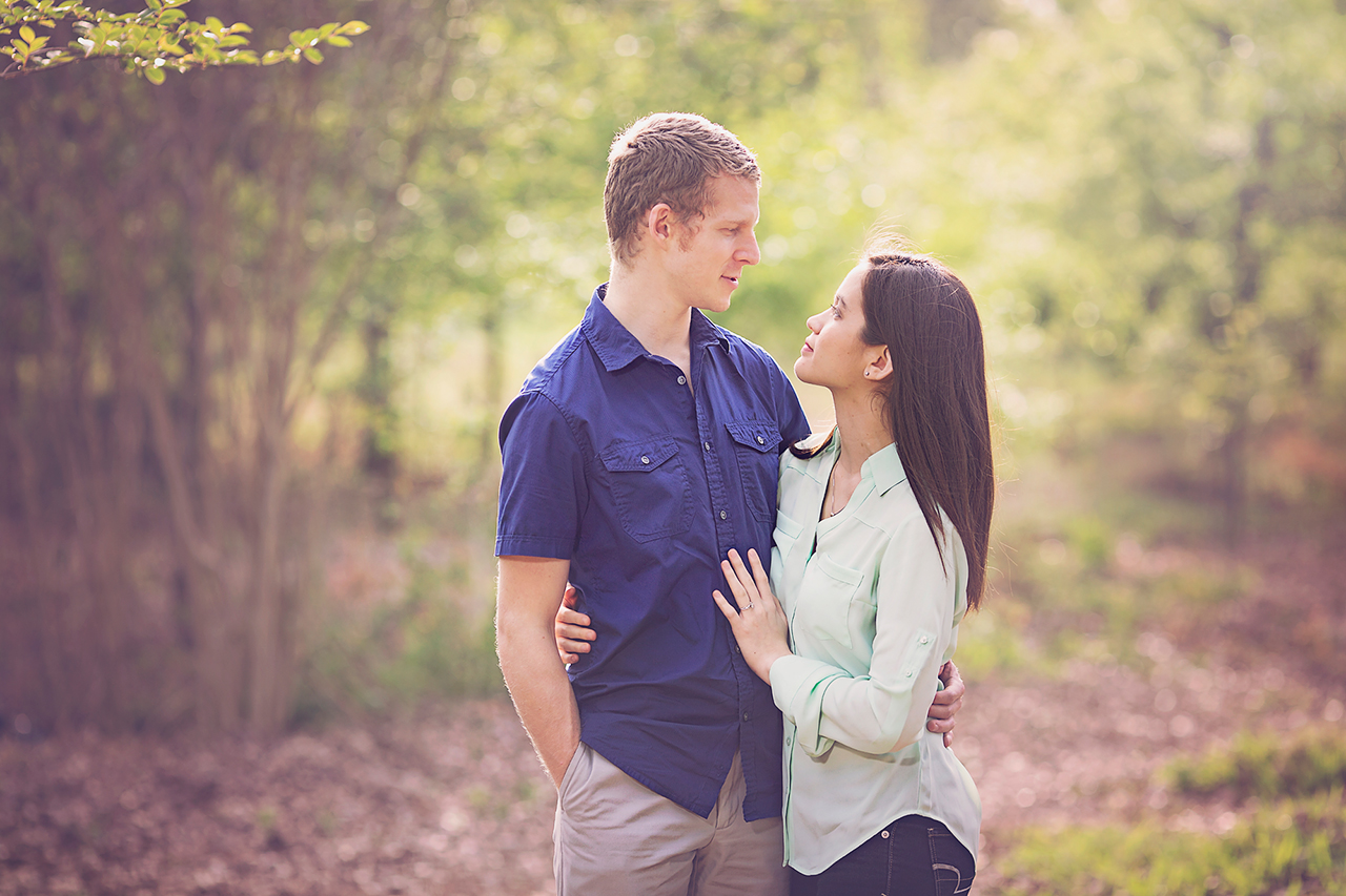 Herman Park Houston Engagement Photography