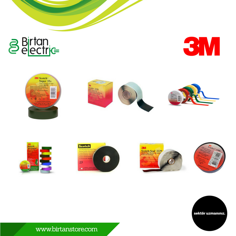 Birtan Elektrik 3M Bant