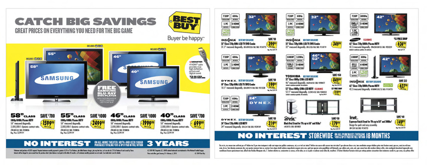 Best Buy Insert Cover & Spread