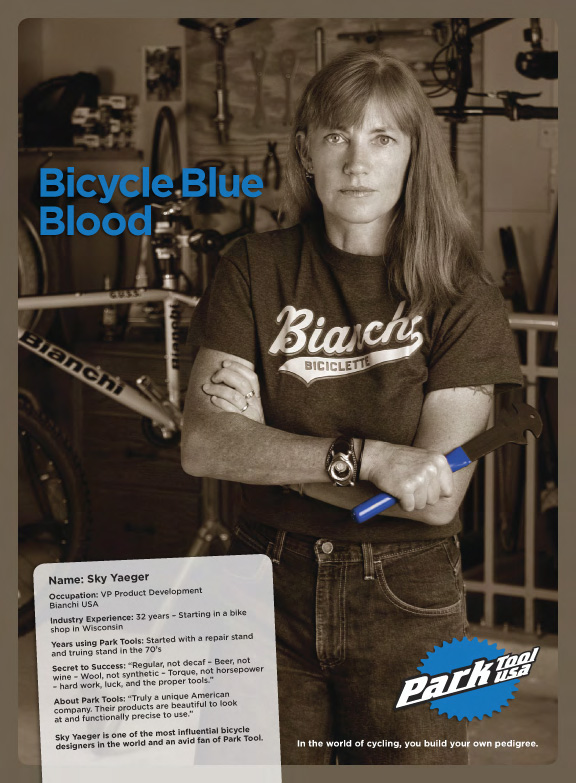 Bicycle Blue Blood Ad - Design & Photography