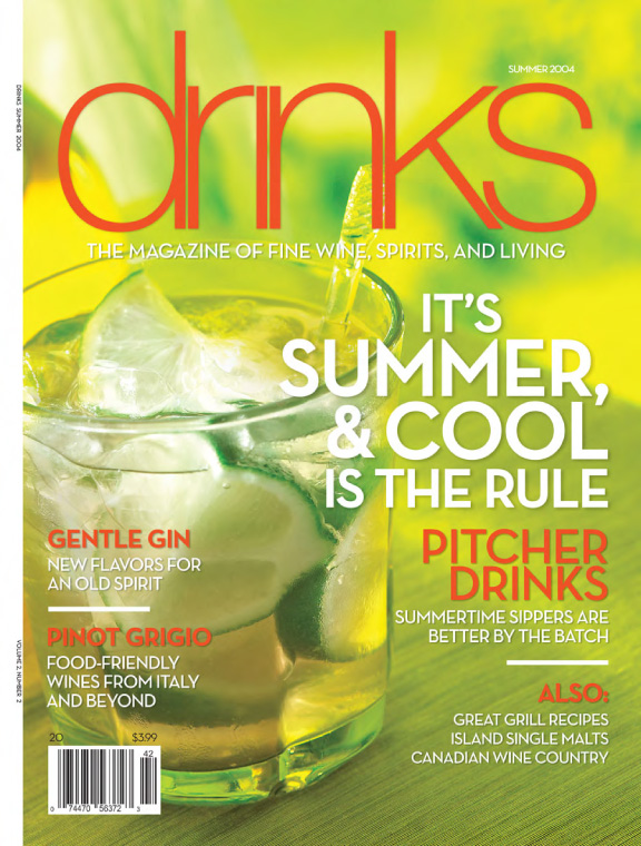 Drink Magazine Cover