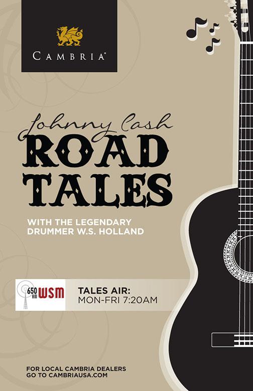 Johnny Cash Road Tales Poster