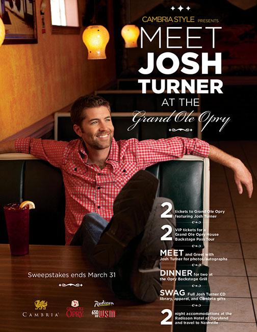 Meet Josh Turner Poster